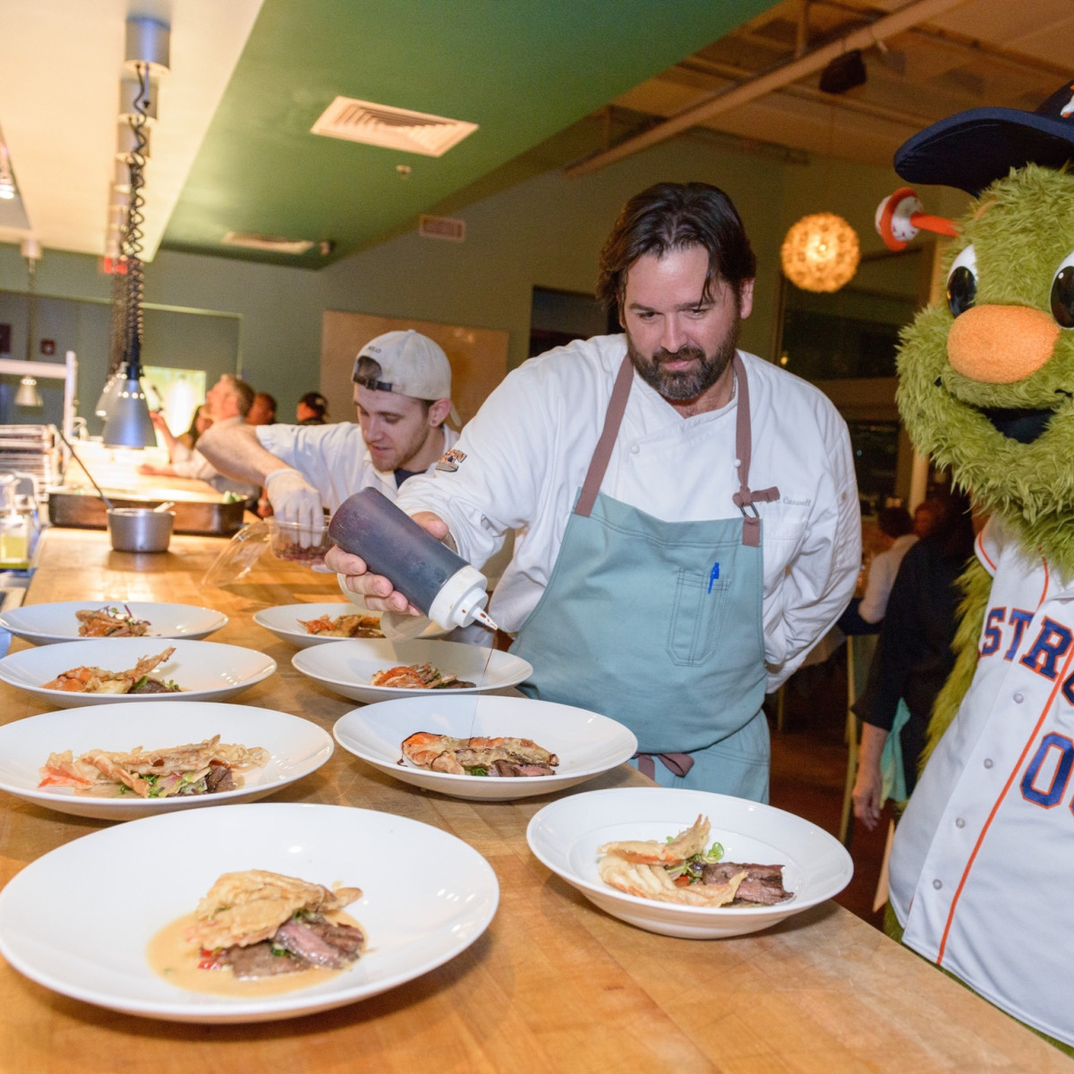 Salty Supper Bryan Caswell Houston Astros Orbit