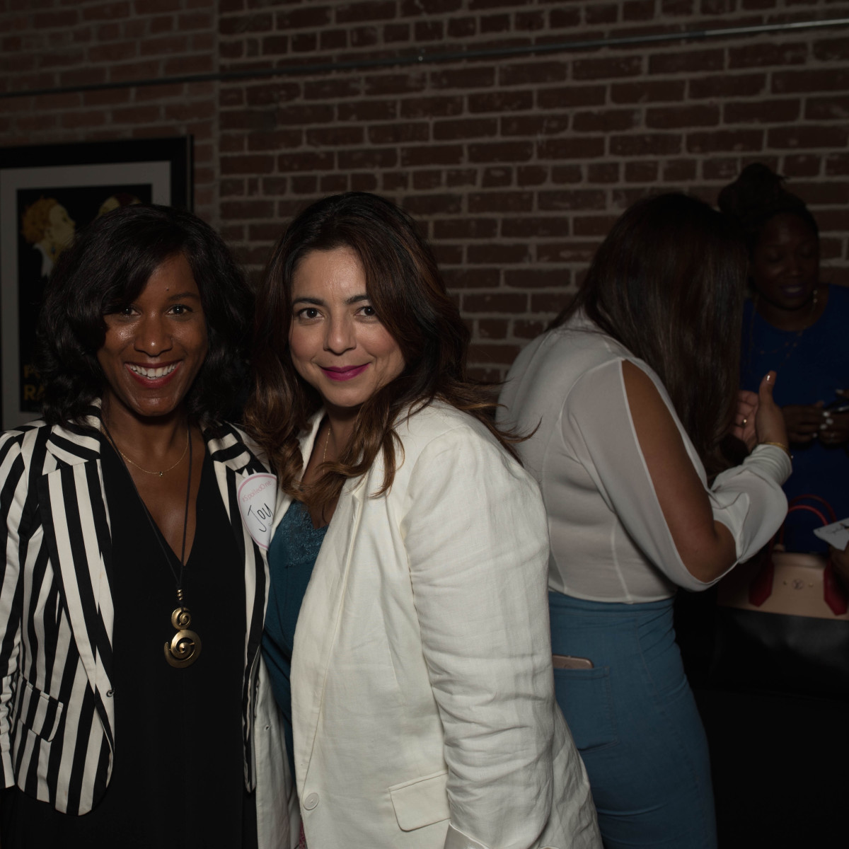 Joy Sewing, Lisa Valdez at Spoiled Latina Day event