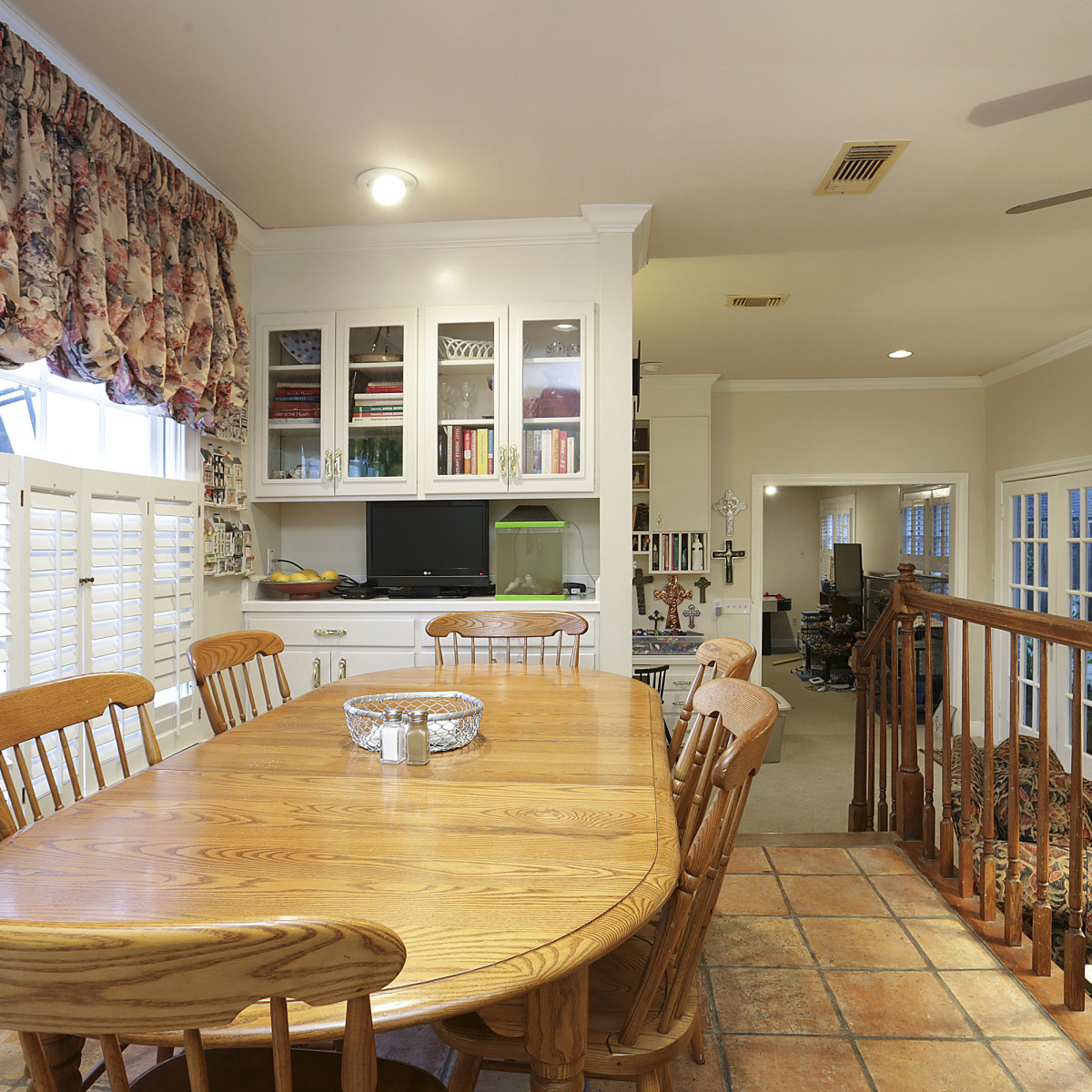 2424 Locke Lane in Houston house for sale breakfast nook