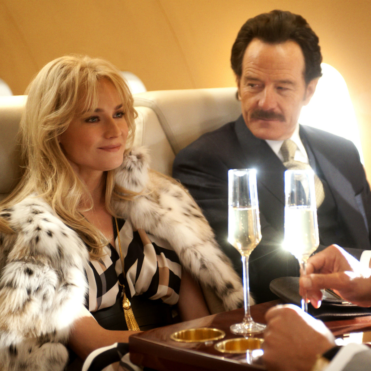 Diane Kruger and Bryan Cranston in The Infiltrator
