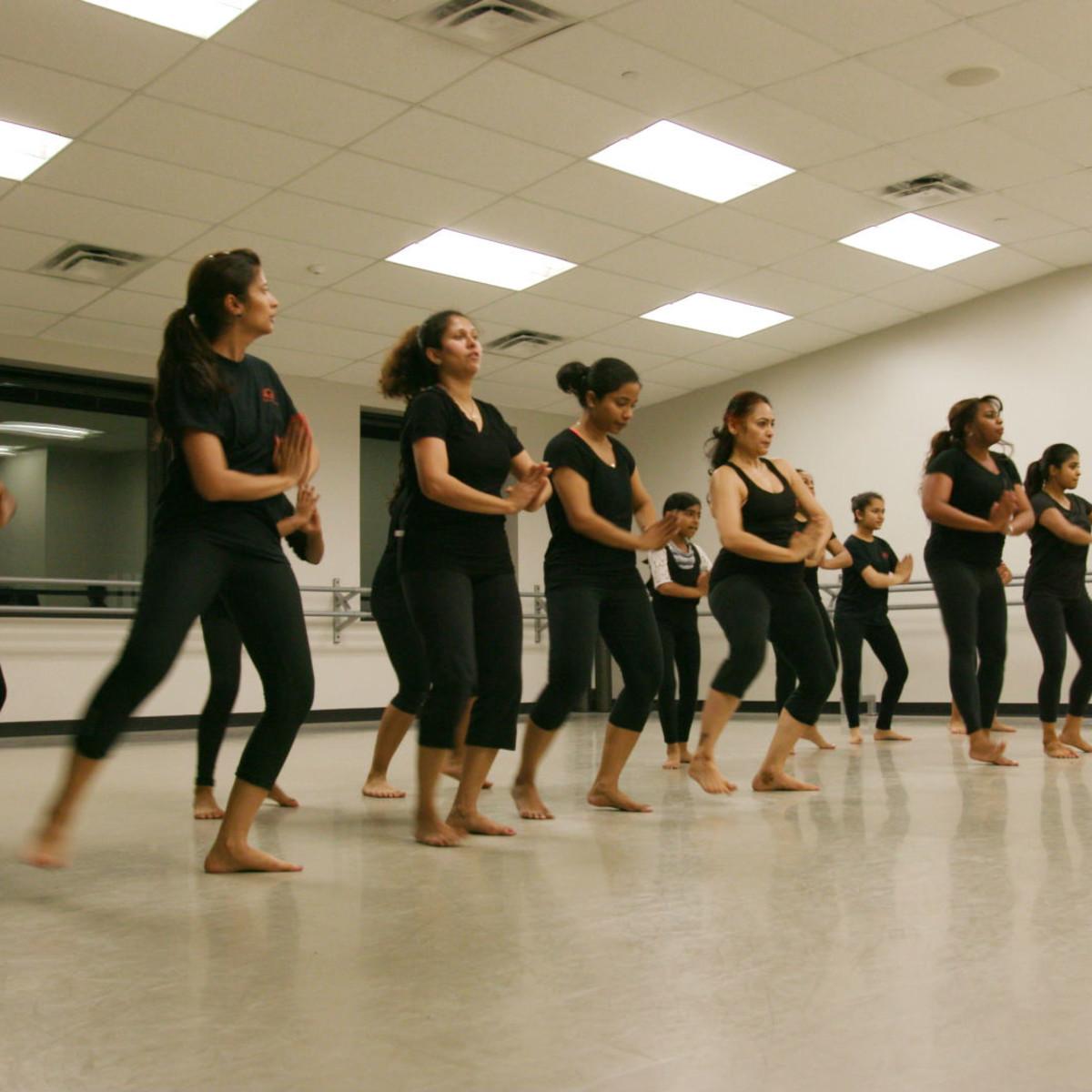 Agni Dance Company class