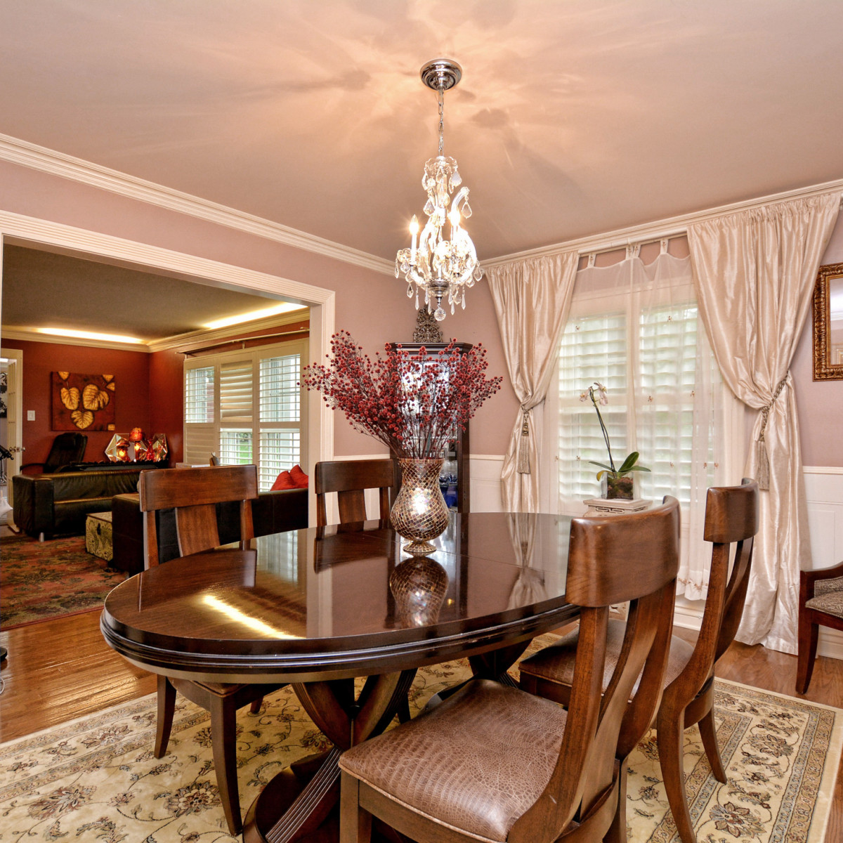 227 Treasure Way San Antonio house for sale dining room