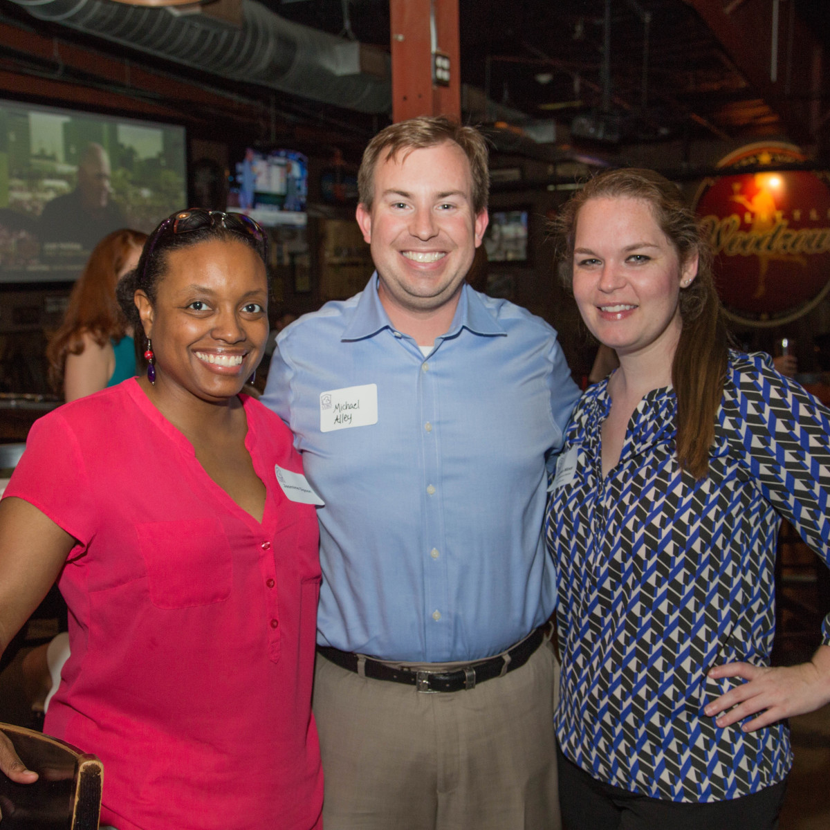 Casa de Esperanza YP event 6/16 Jasmine Gipson, Michael Alley, Laura Minor
