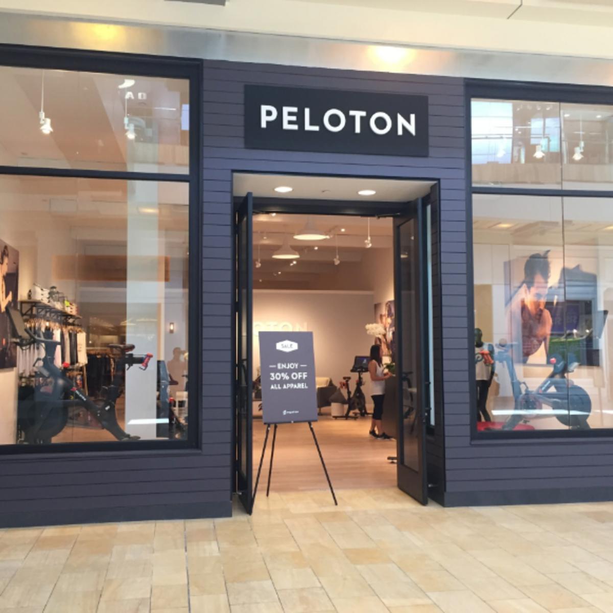Peloton store in The Galleria Houston