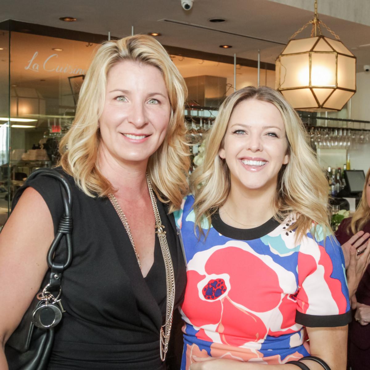 Ellevate Network breakfast 6/16 Danielle Dearing, Hannah Dismuke