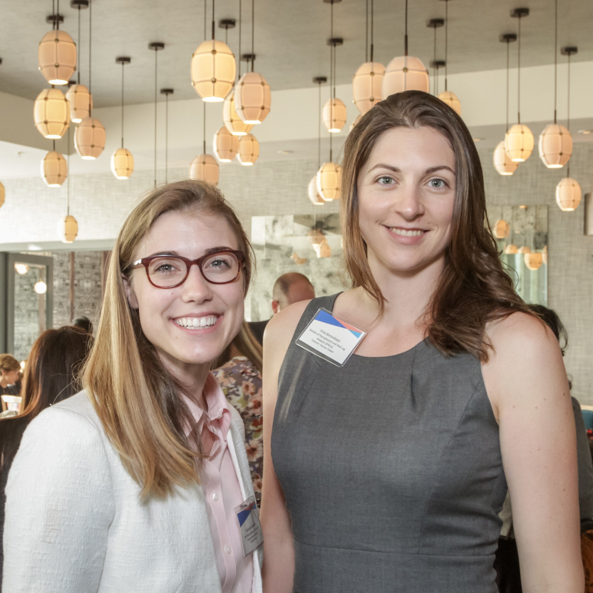 Ellevate Network breakfast 6/16 Beatrice Wallace, Irina Borovskaya