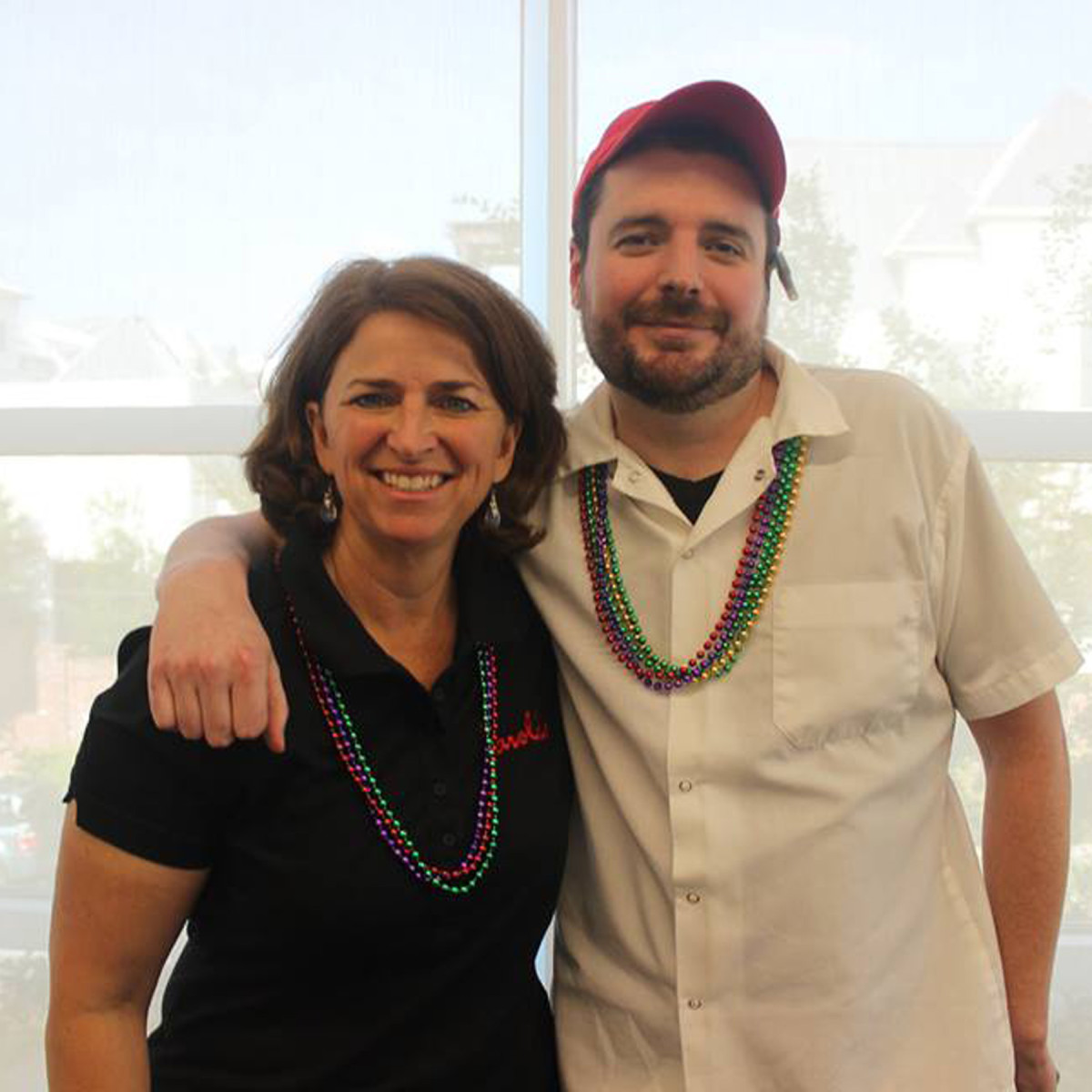 Dress for Success open house, 6/16 Alli Jarrett, Mike Hartley