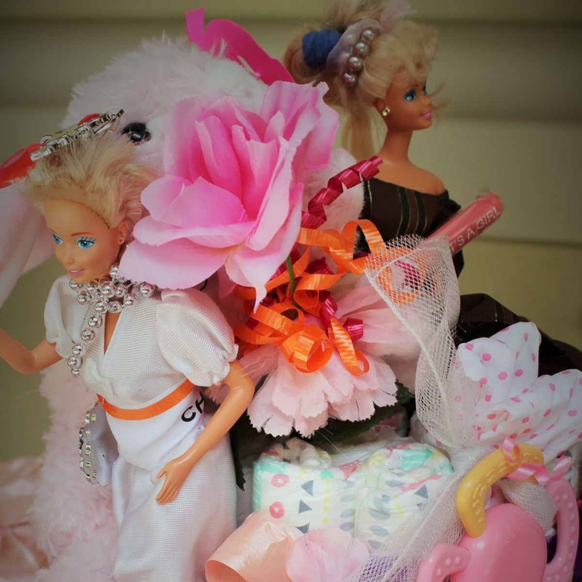 Erica Rose Baby Shower, June 2016, Barbies