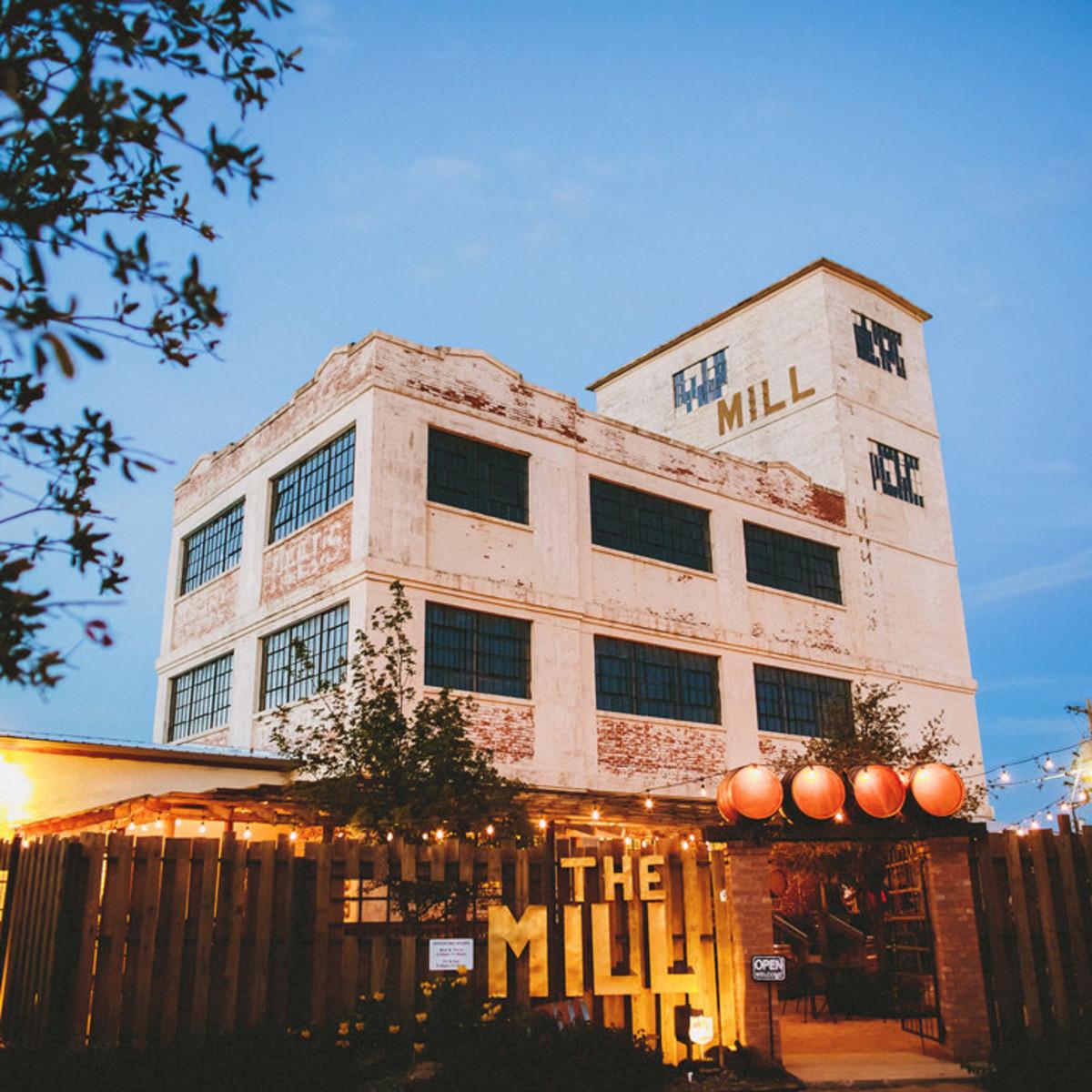 The Mill wine bar in Abilene, Texas