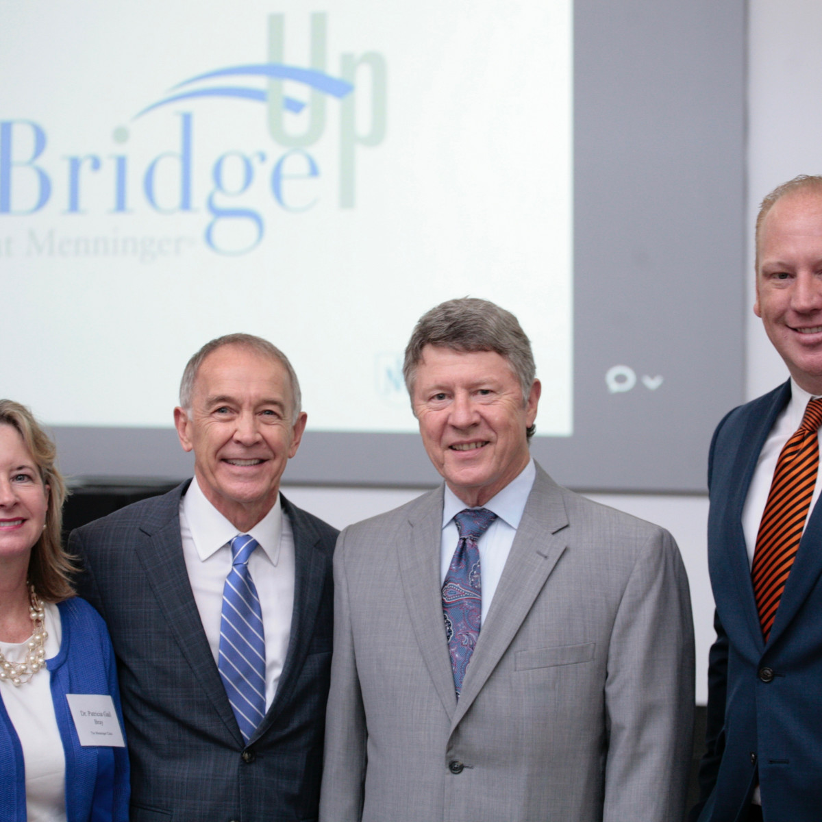Menninger Bridge Up, Patricia Gail Bray, C. Edward Coffey, Ed Emmett, Bill Kelly