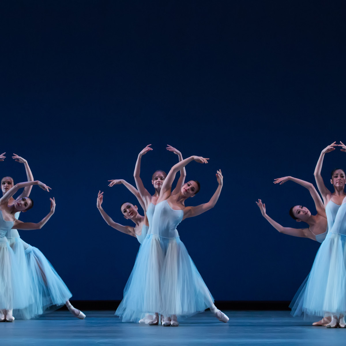 Artists of Houston Ballet in Serenade