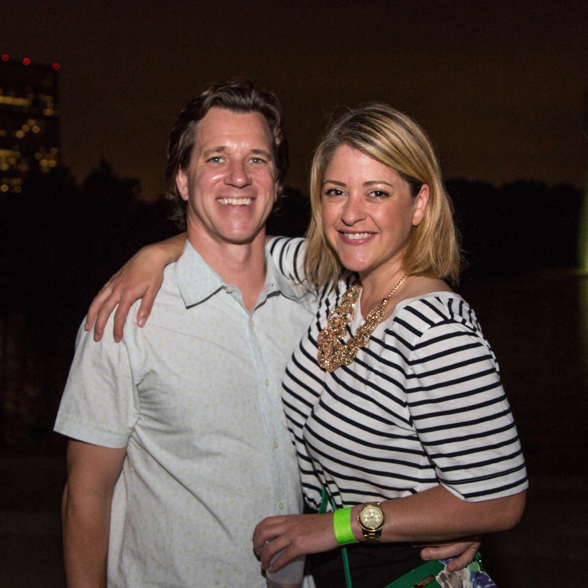 Urban Green Overboard party, Andrew Borches, Adrienne Saxe