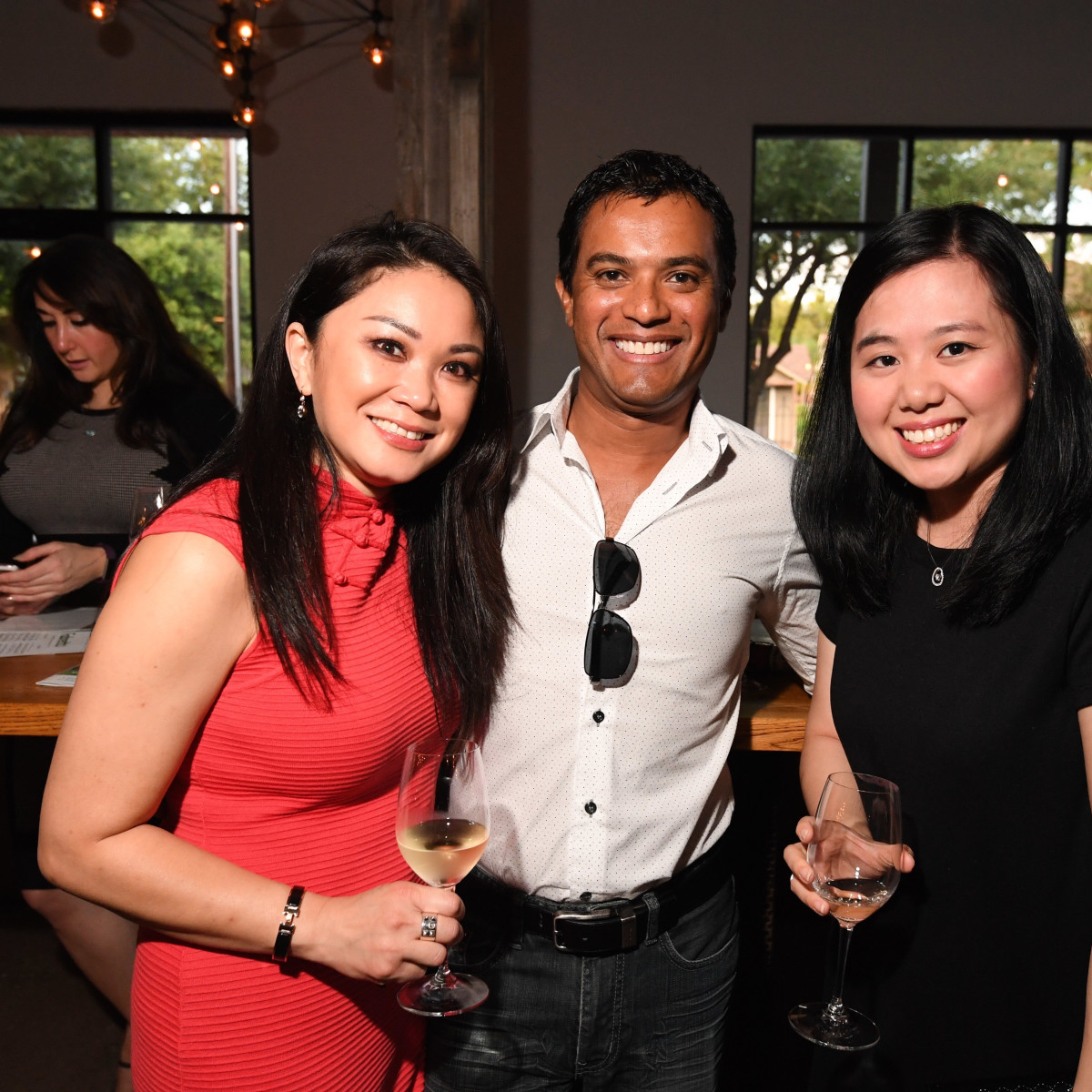 Fabretto Children's Foundation kickoff, may 2016, Pauline Huen, Jake Gopinath, Tammy Leyton