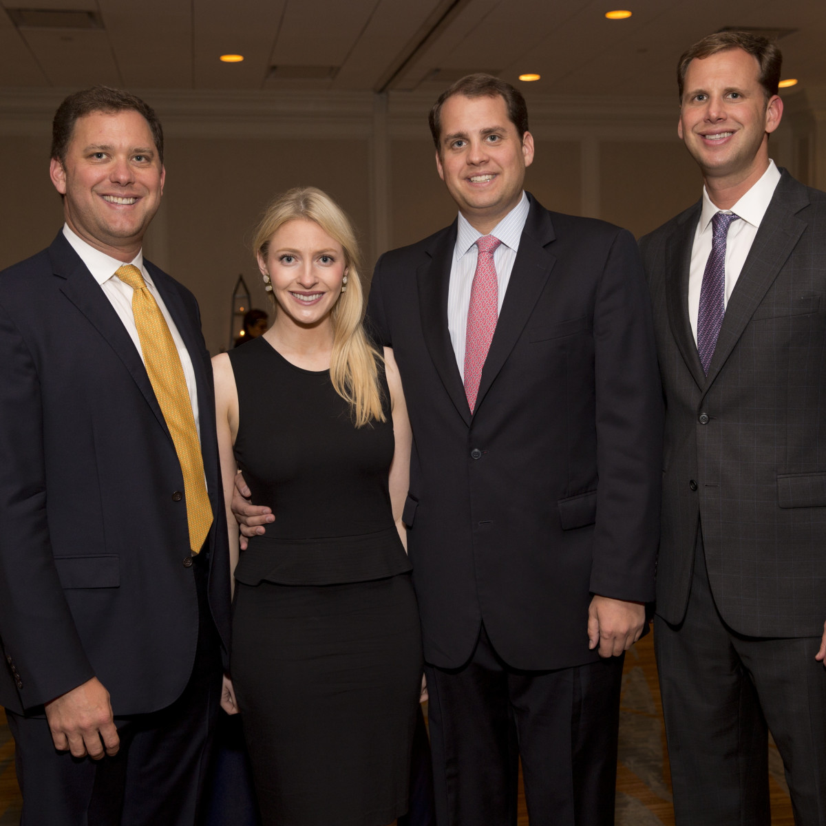 Texas Children's Cancer Center dinner, 5/16 Ryan Gordon, Whitney Gordon, Matt Gordon, Scott Gordon.