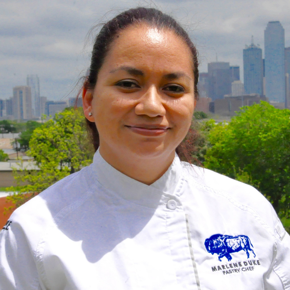 Pastry chef Marlene Duke