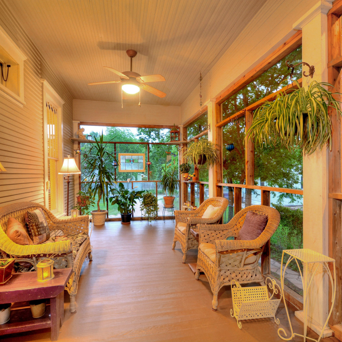 Austin home house 2416 S 2nd Street 78704 front porch