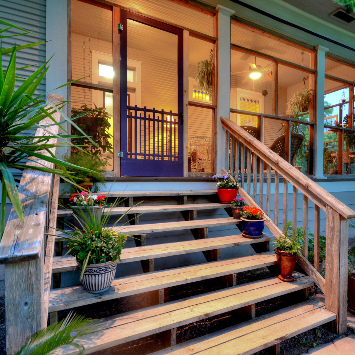 Austin home house 2416 S 2nd Street 78704 front entry