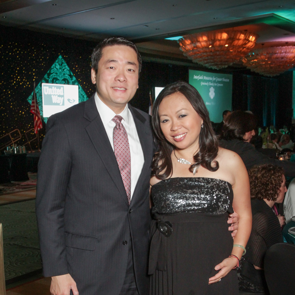 Tapestry gala, May 2016, Gene Wu, Miya Shay