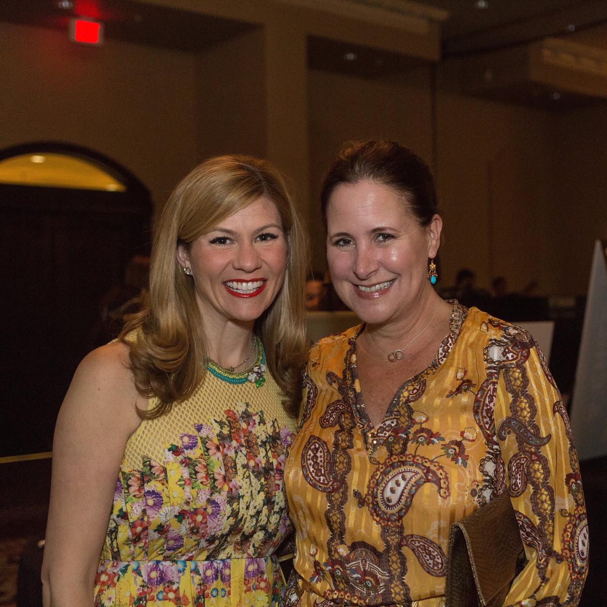 Child Advocates gala 5/16,  Kelly Goff, Kim David