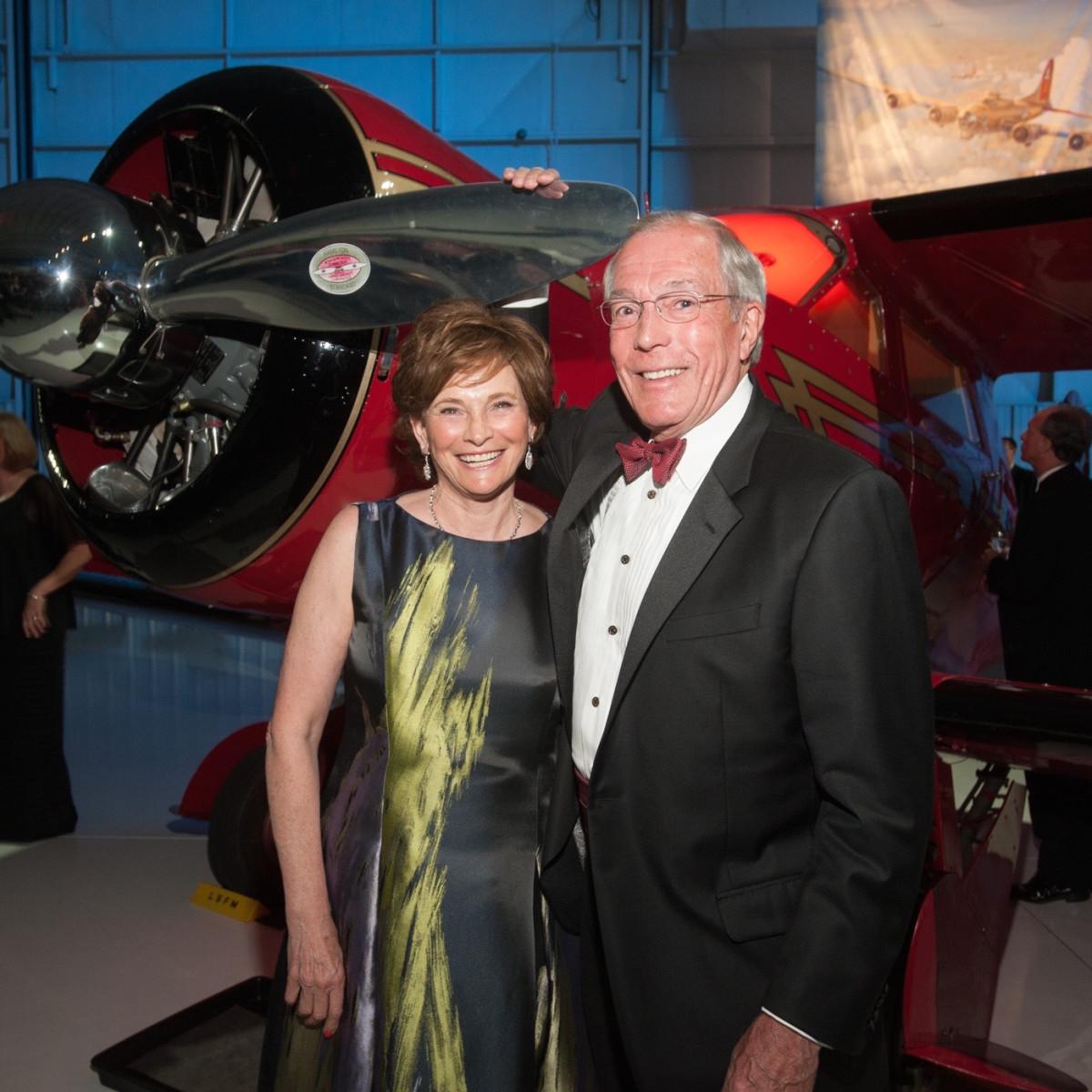 Lone Star Flight Museum gala 5/16 Bobbie Nau, John Nau