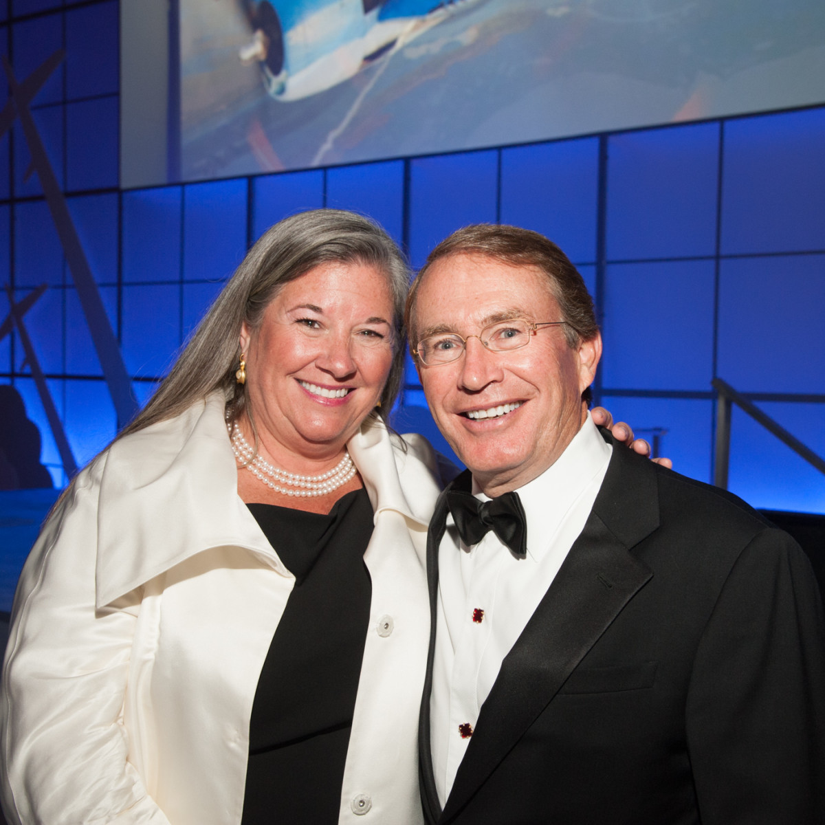 Lone Star Flight Museum gala 5/16 Brenda Watts, Marc Watts