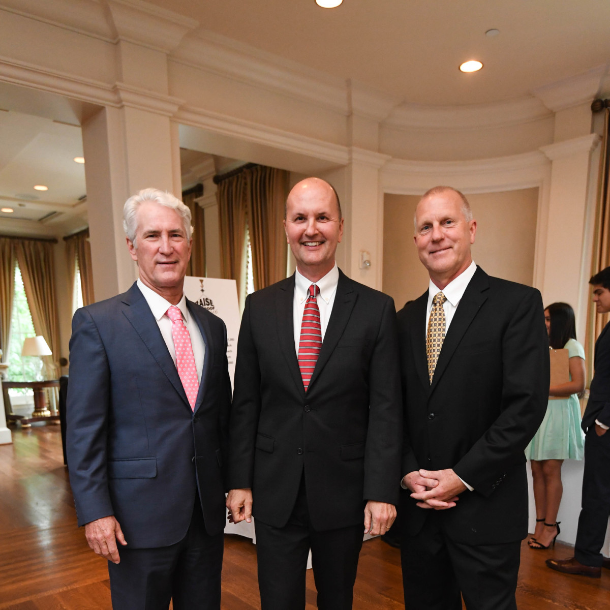 Chinquapin gala 5/16 Bart Bentley, Peter Boudreaux, Tom Forney