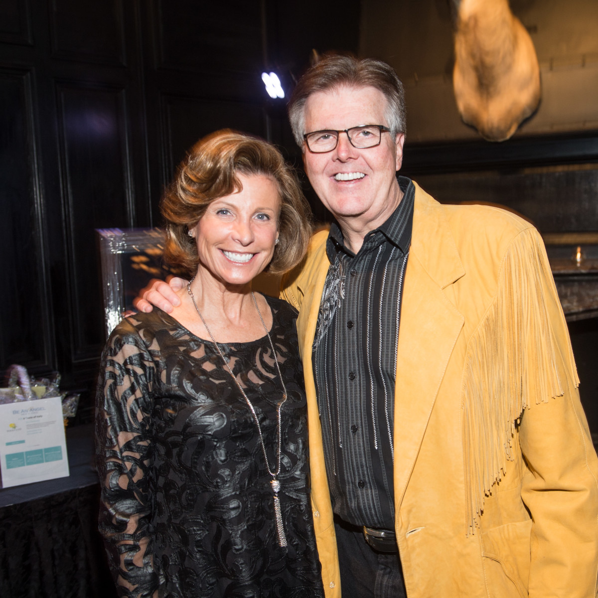 Be An Angel gala 5/16. Jan Patrick, Dan Patrick
