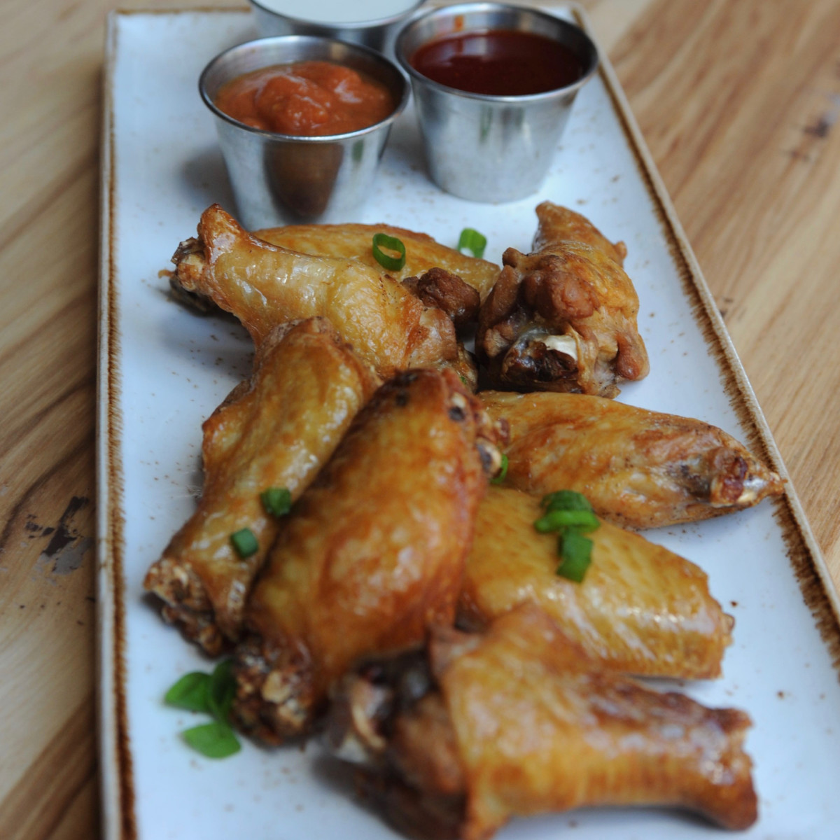 State Fare chicken wings