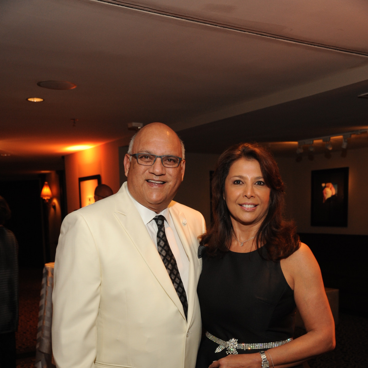 Houston Arts Alliance dinner 5/16, Dr. Fred Aguilar, Regina Garcia