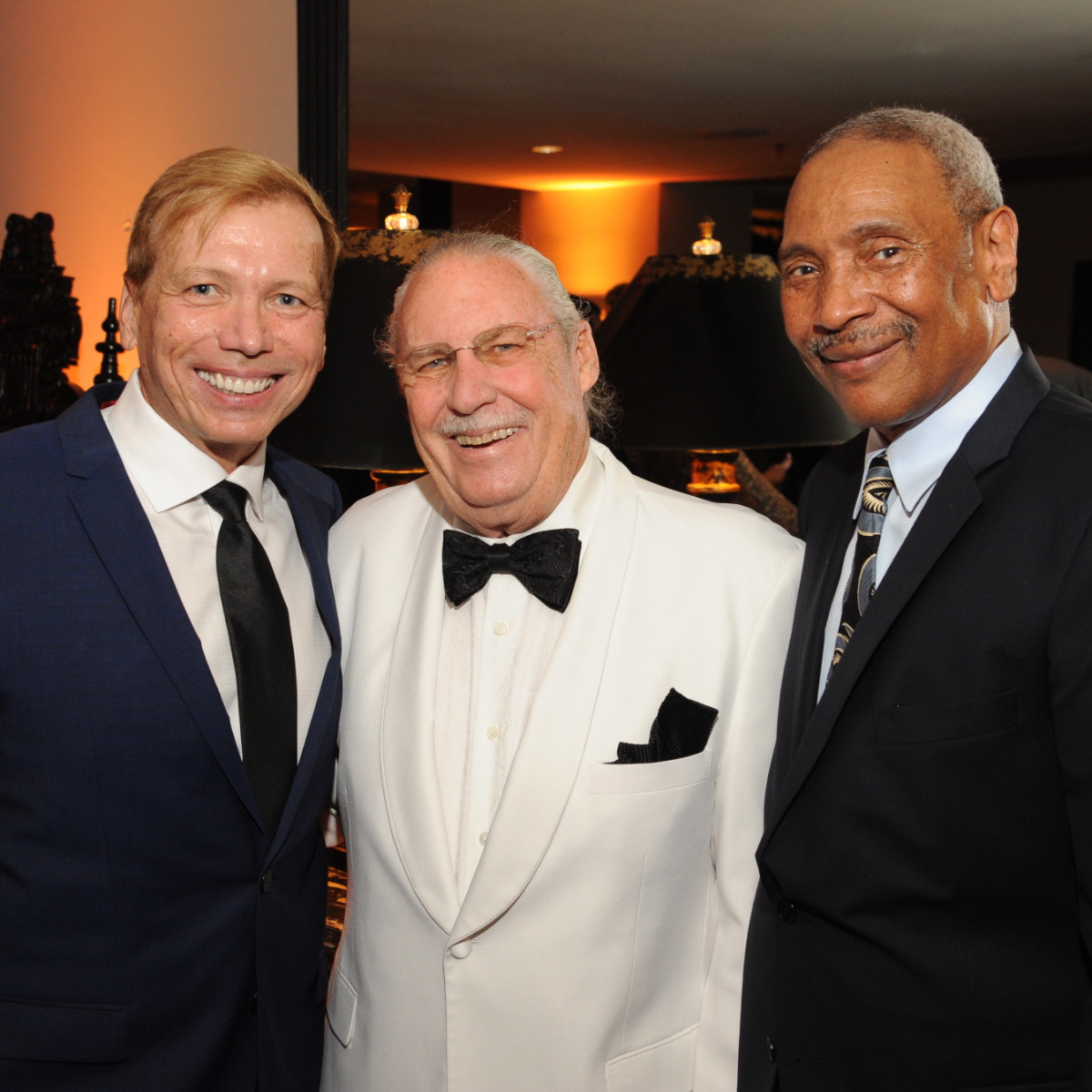 Houston Arts Alliance dinner 5/16, Jonathon Glus, Arthur Baird, John Guess Jr.