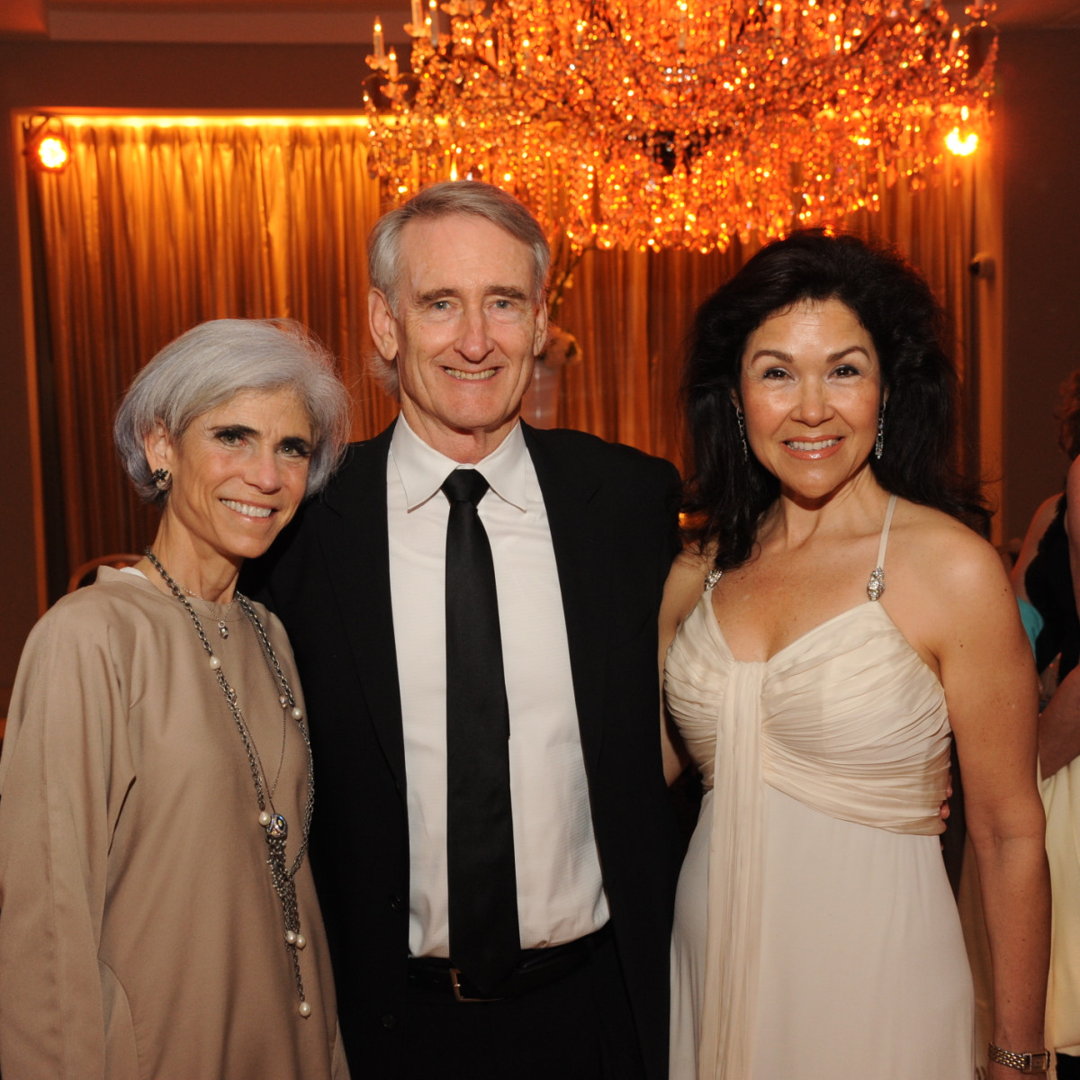 Houston Arts Alliance dinner 5/16,  Judy Nyquist, Scott Wise, Geraldina Wise