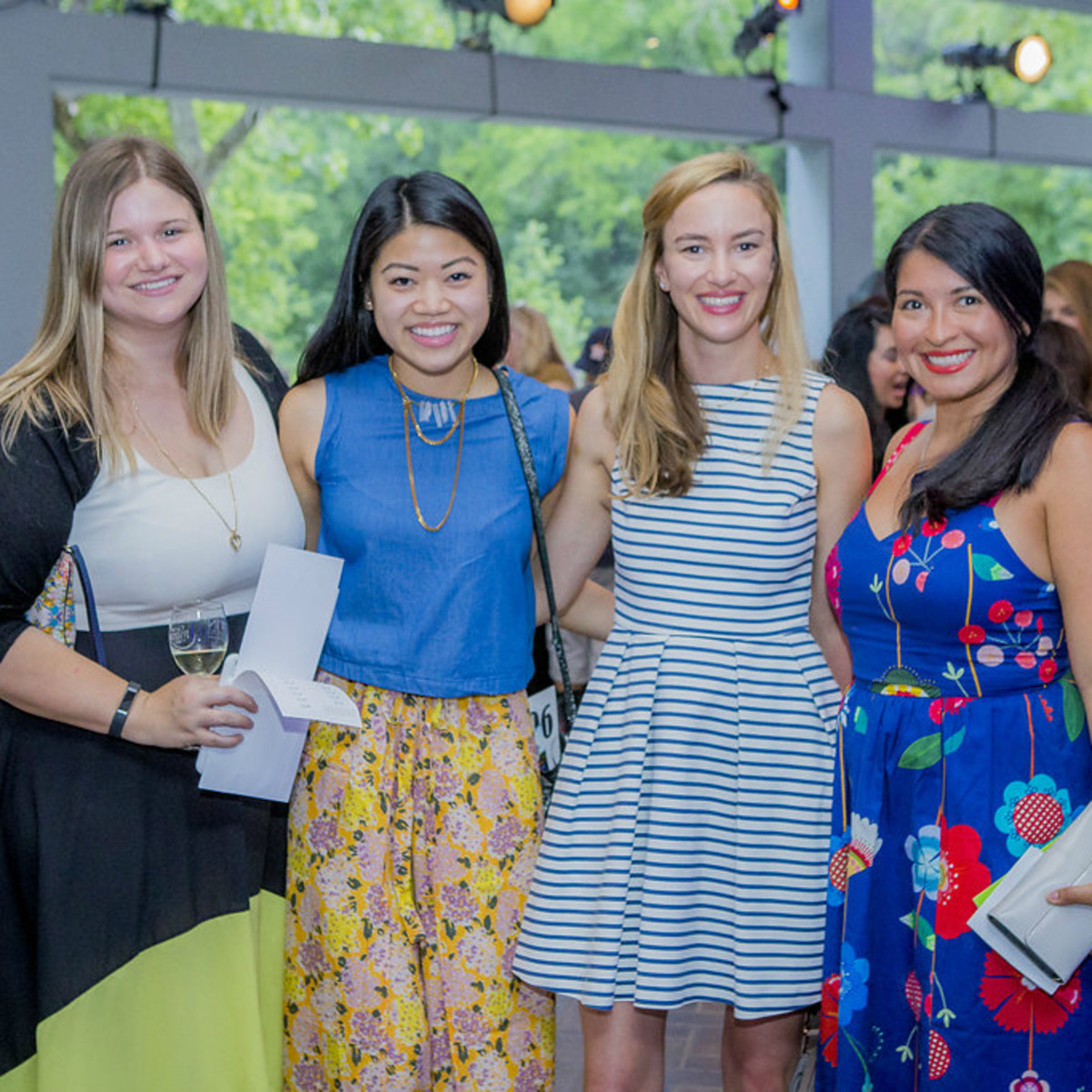 Umlauf Sculpture Garden and Museum Garden Party 2016 Jane Kellogg Murray Mandy Mayekawa Stirling Kelso Neff Laura Villagran Johnson