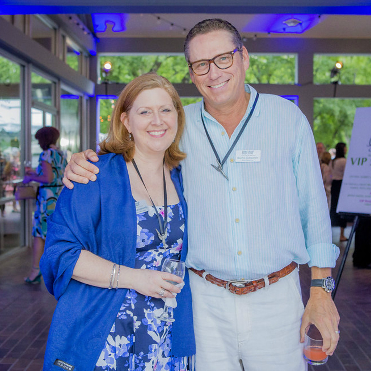 Umlauf Sculpture Garden and Museum Garden Party 2016 Donna Daugherty Burke Edwards