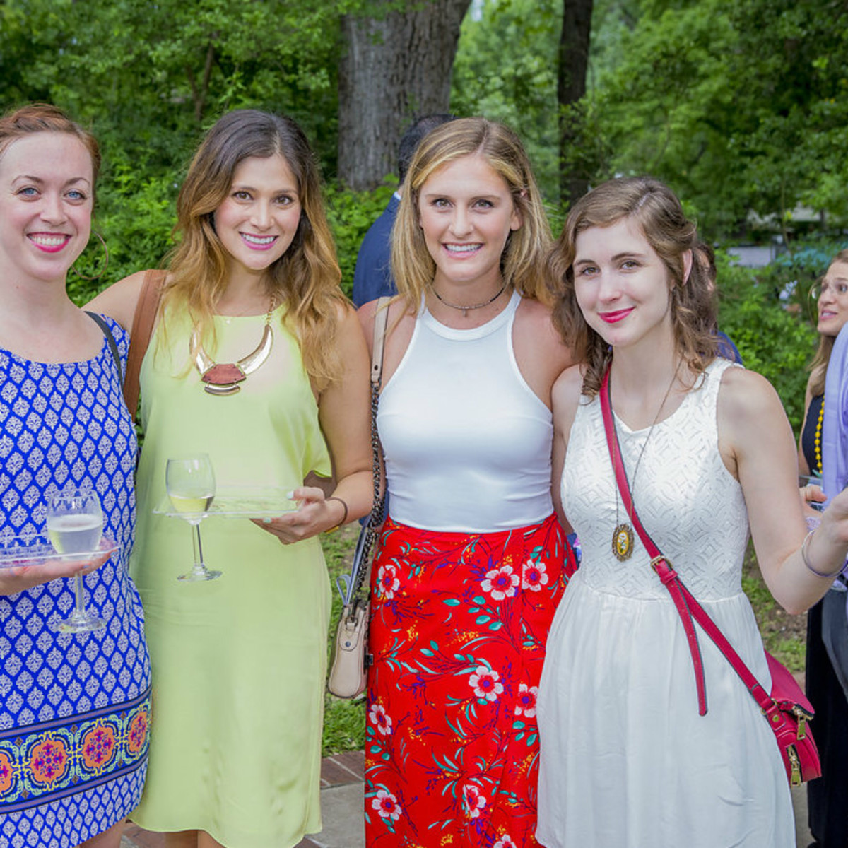 Umlauf Sculpture Garden and Museum Garden Party 2016 CultureMap Austin Molly McManus Kelly Keelan Kelli Blumrosen Nicole Raney