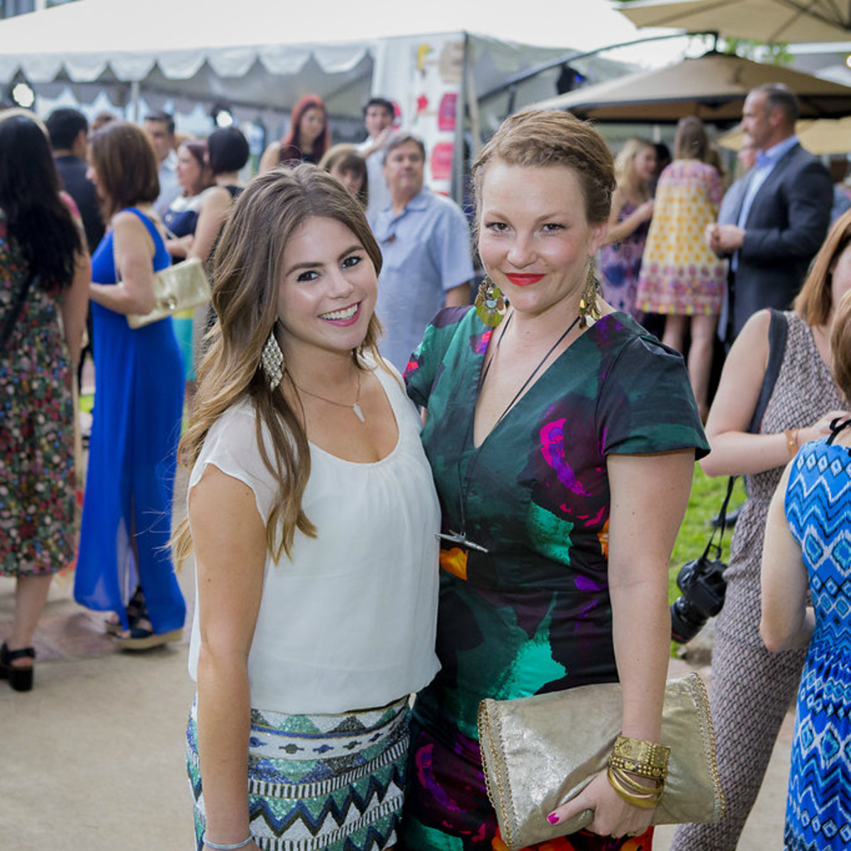 Umlauf Sculpture Garden and Museum Garden Party 2016 Alyson Maxey Lynnsie Jammal