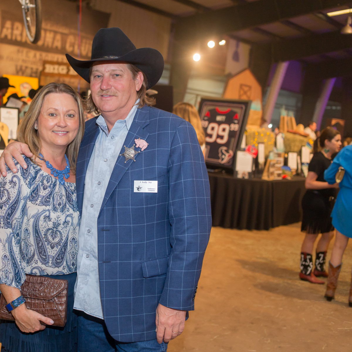 Cattle Baron's Ball, 4/2016 Becky Joy, Kelly Joy
