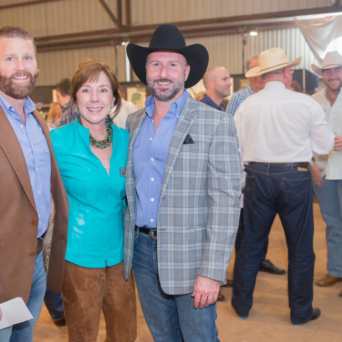 Cattle Barons Ball, 4/16, Kevin Black, Elizabeth Stein, Tony Bradfield