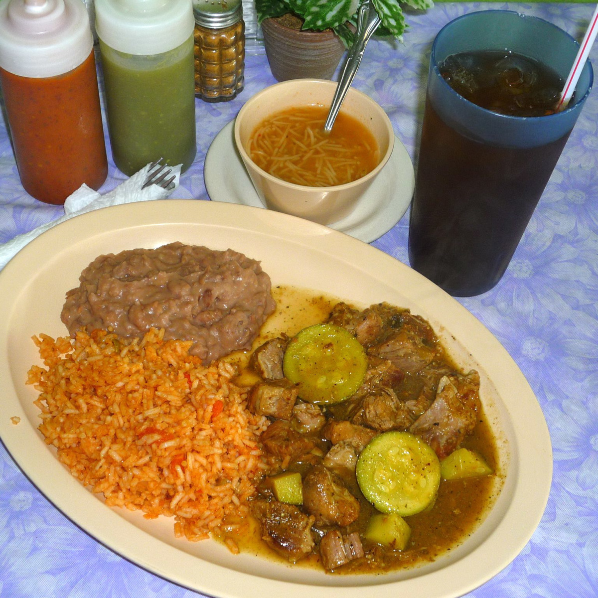 La Choza on Starcrest offers budget-friendly Mexican.