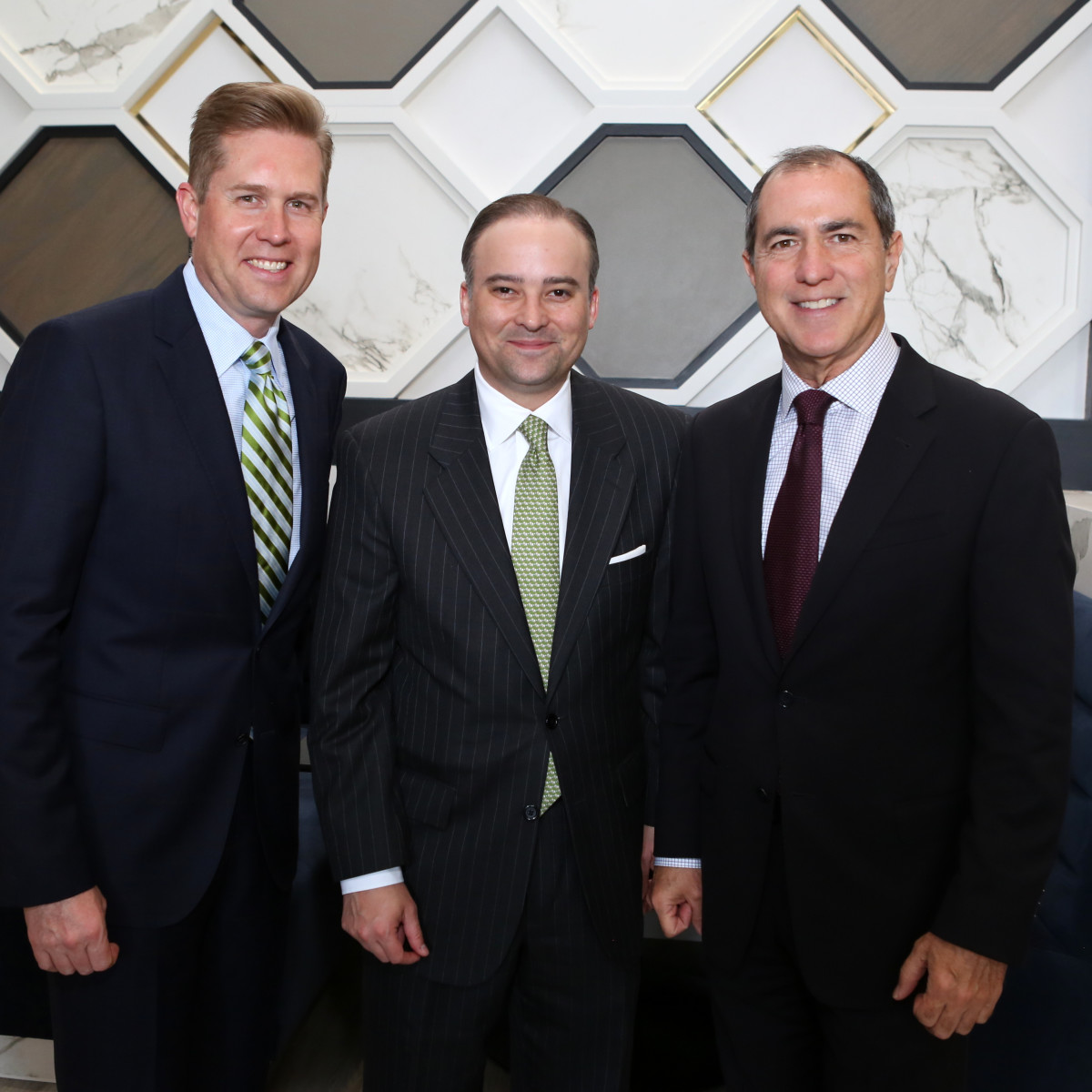 Saks MD Anderson benefit 4/16, John , Zack Fertitta and Grant