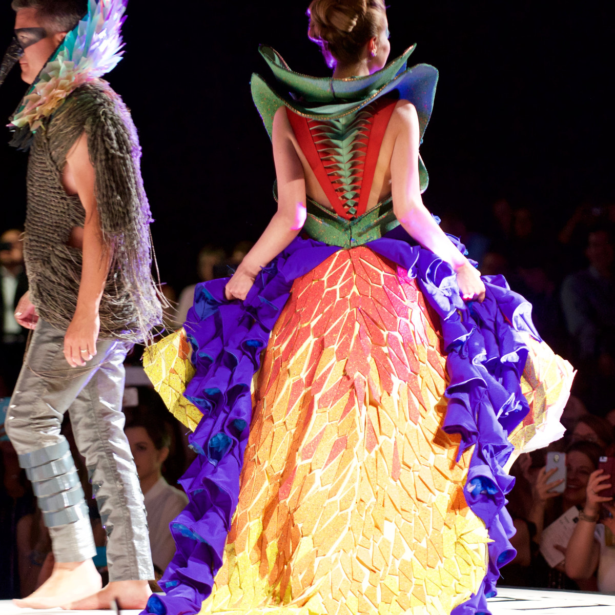 Product Runway Winner, 4/16 Kirksey design