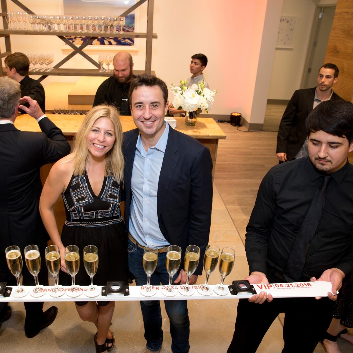 Saint Bernard Opening, Ashleigh Goyer, Charlie Goyer
