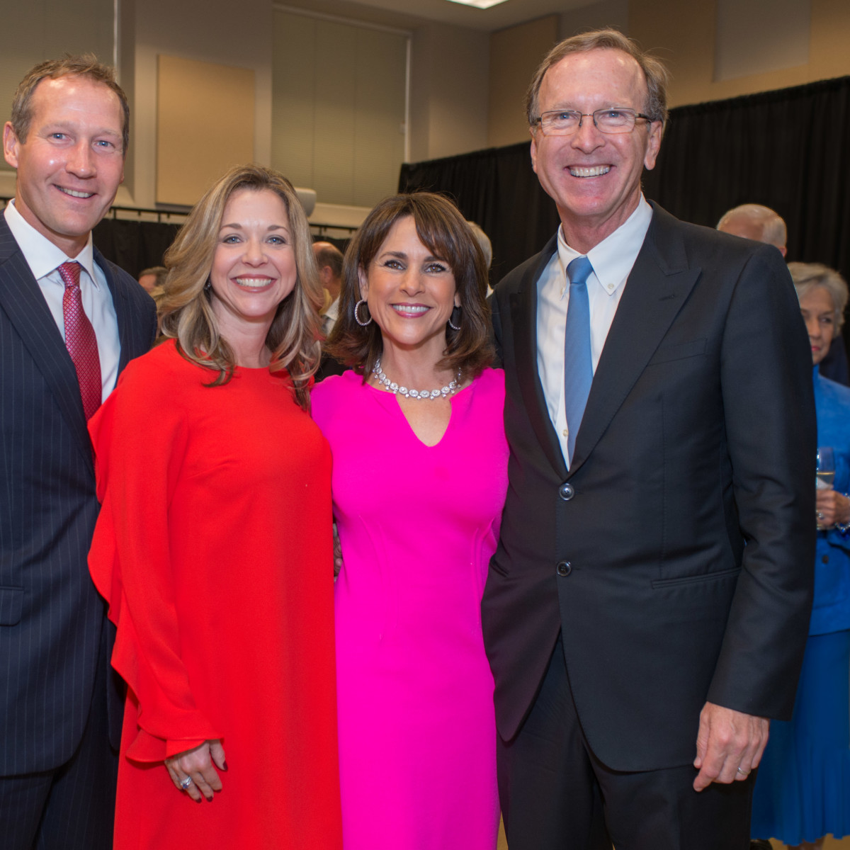 Celebration of Reading 4/16, Ron Finck, Julie Baker Finck, Maria Bush, Neil Bush