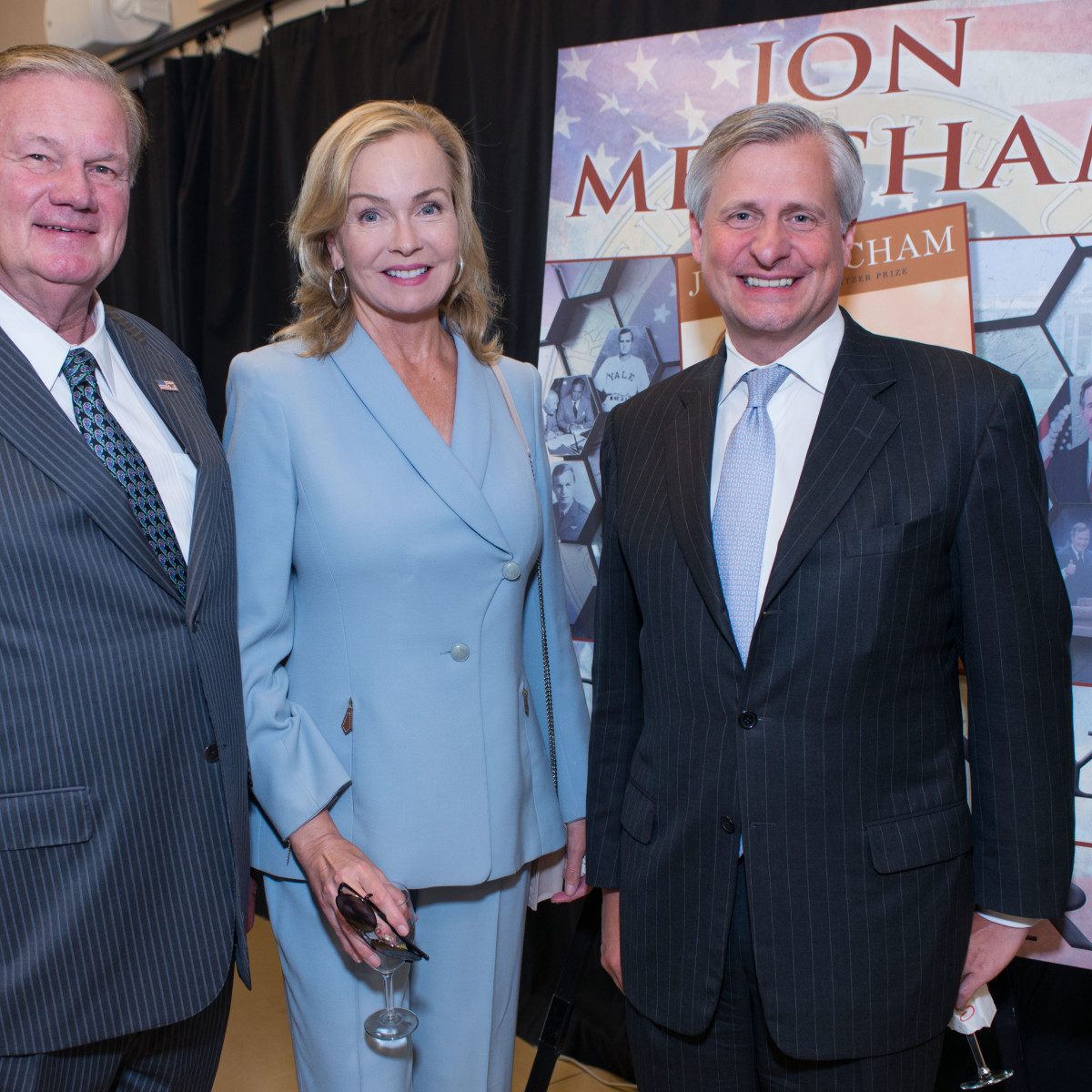 Celebration of Reading 4/16, Keith Mosing, Alice Mosing, Jon Meacham