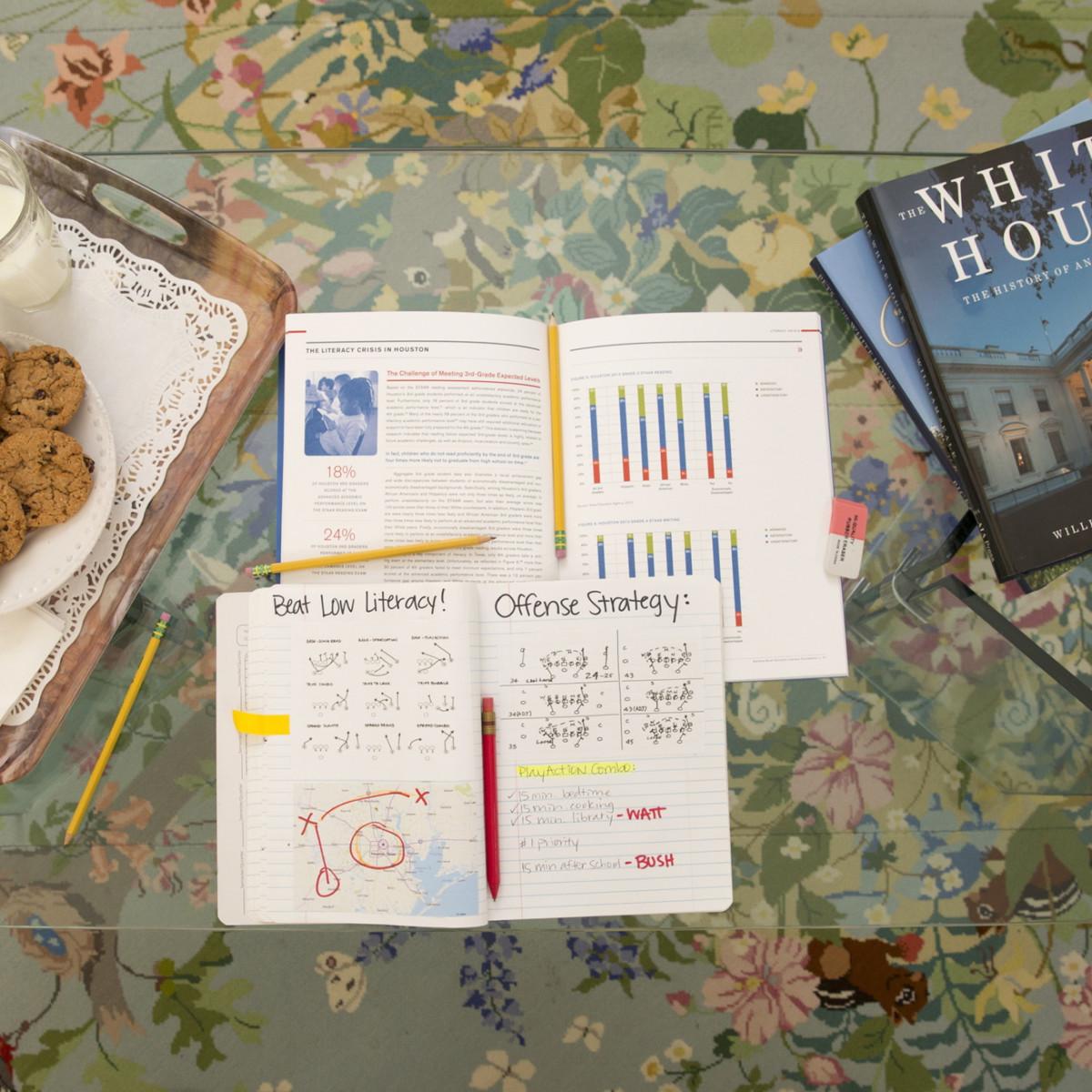 J.J. Watt Play book, literacy, 4/16