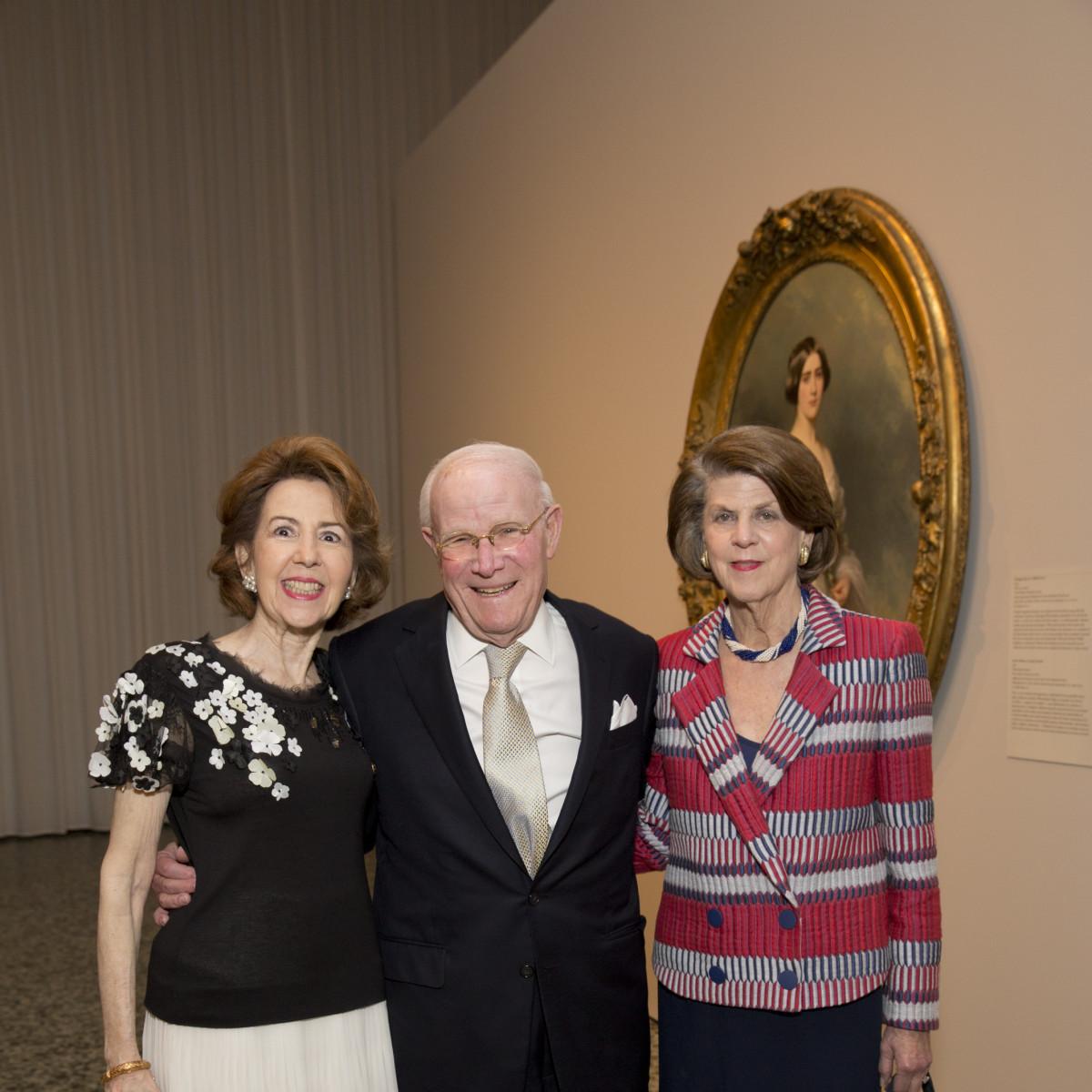 MFAH High Society, 4/16, Gail Adler, Rodney Margolis, Judy Margolis