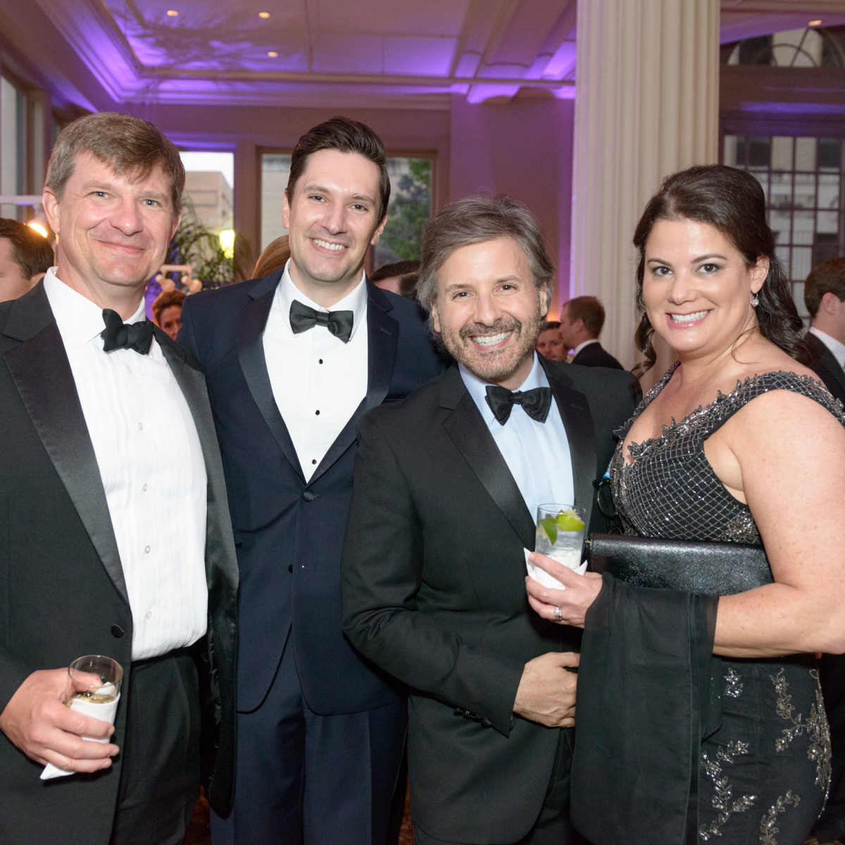SPA, Gala April 20i16, Frank Vandiver, Jeff Kuffler, Ernie Manuse and Courtney Vandiver