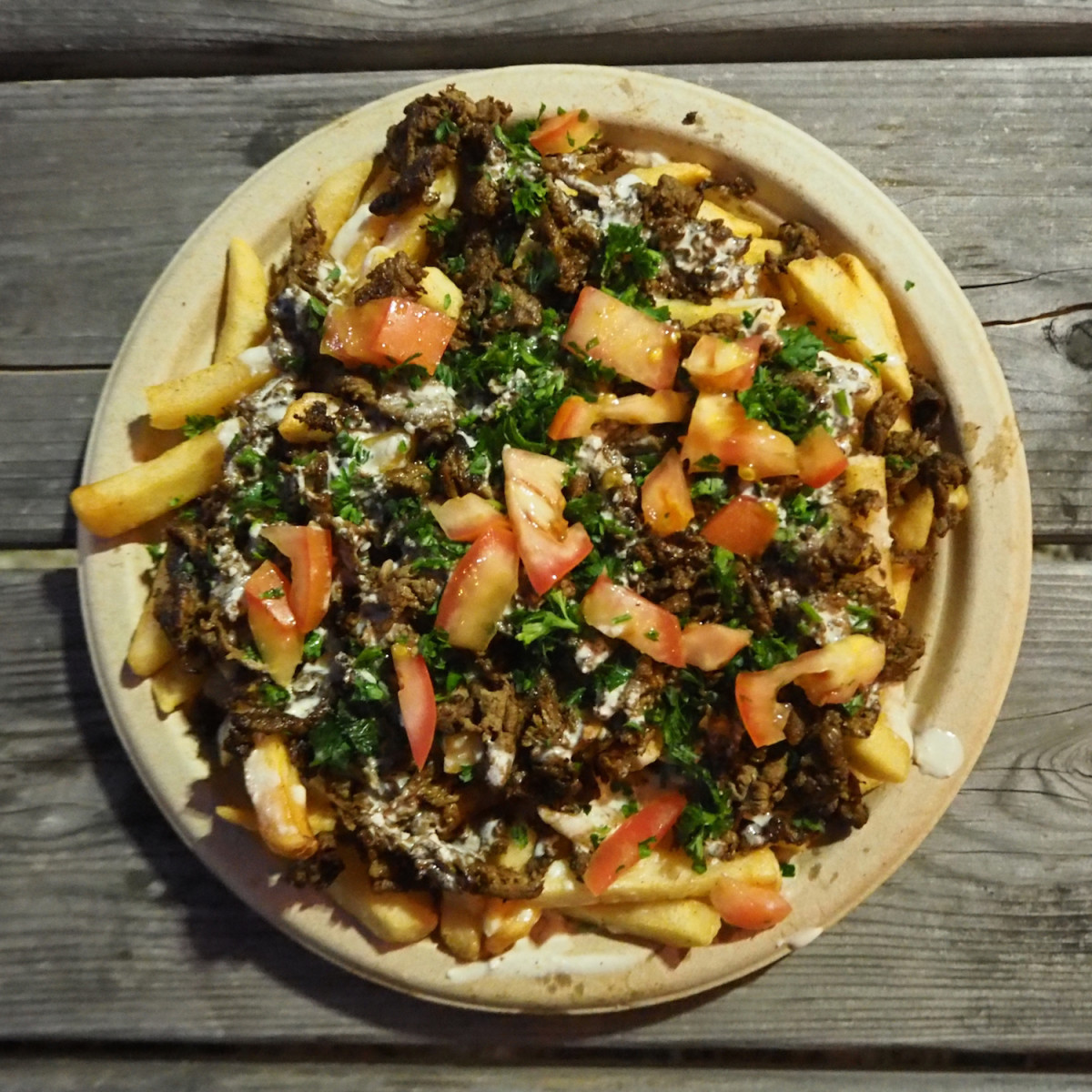 Beirut shawarma fries
