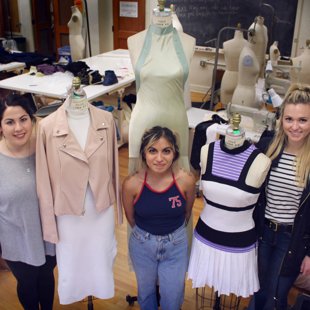 University of Texas fashion show Elements preview class April 2016 Carolina Ramos Victoria Espinoza Emily Noel