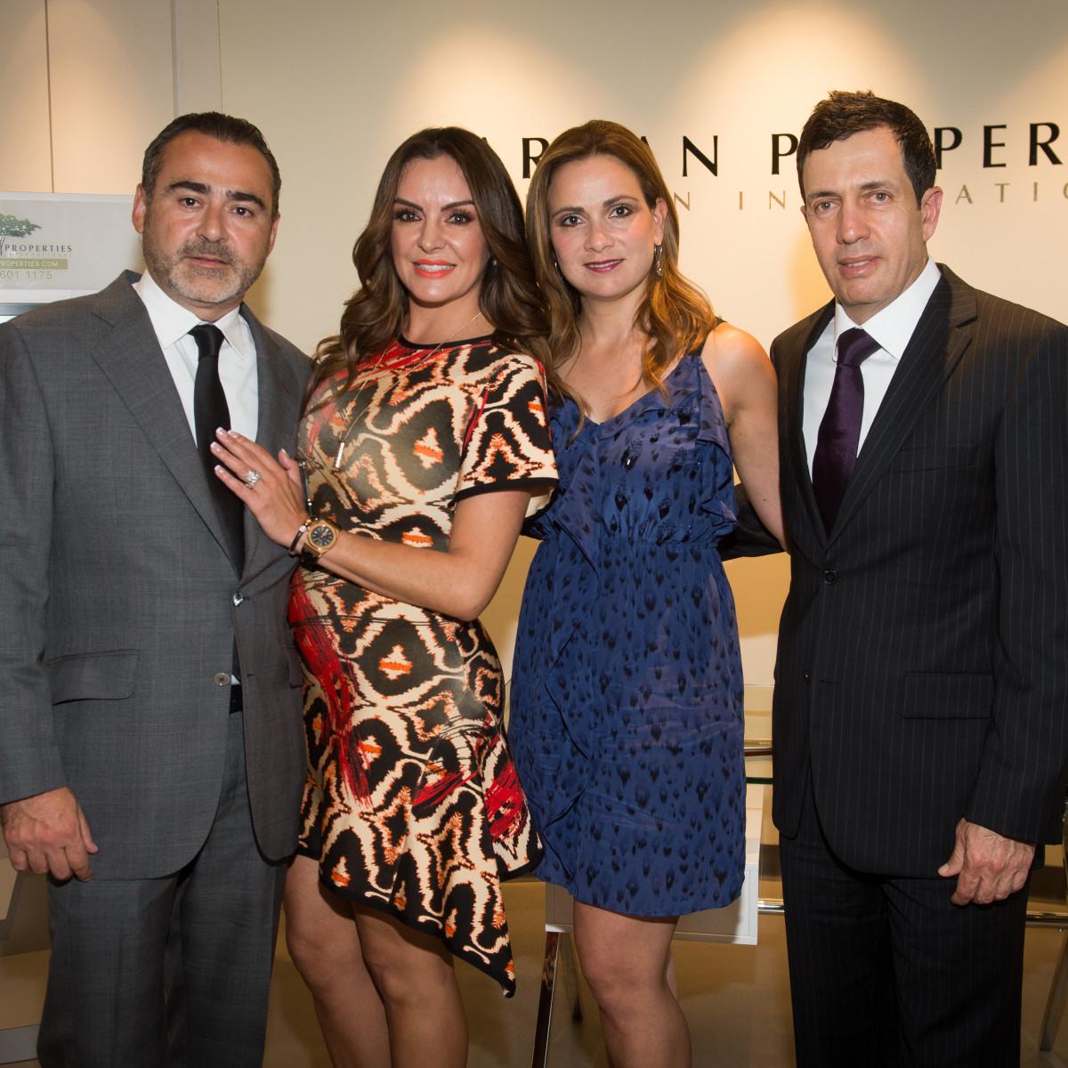 Carnan Offices Opening, April 2016 Rafael Chavez, Carmina Zamorano, Gaby Irastorza, Jorge Lomelin