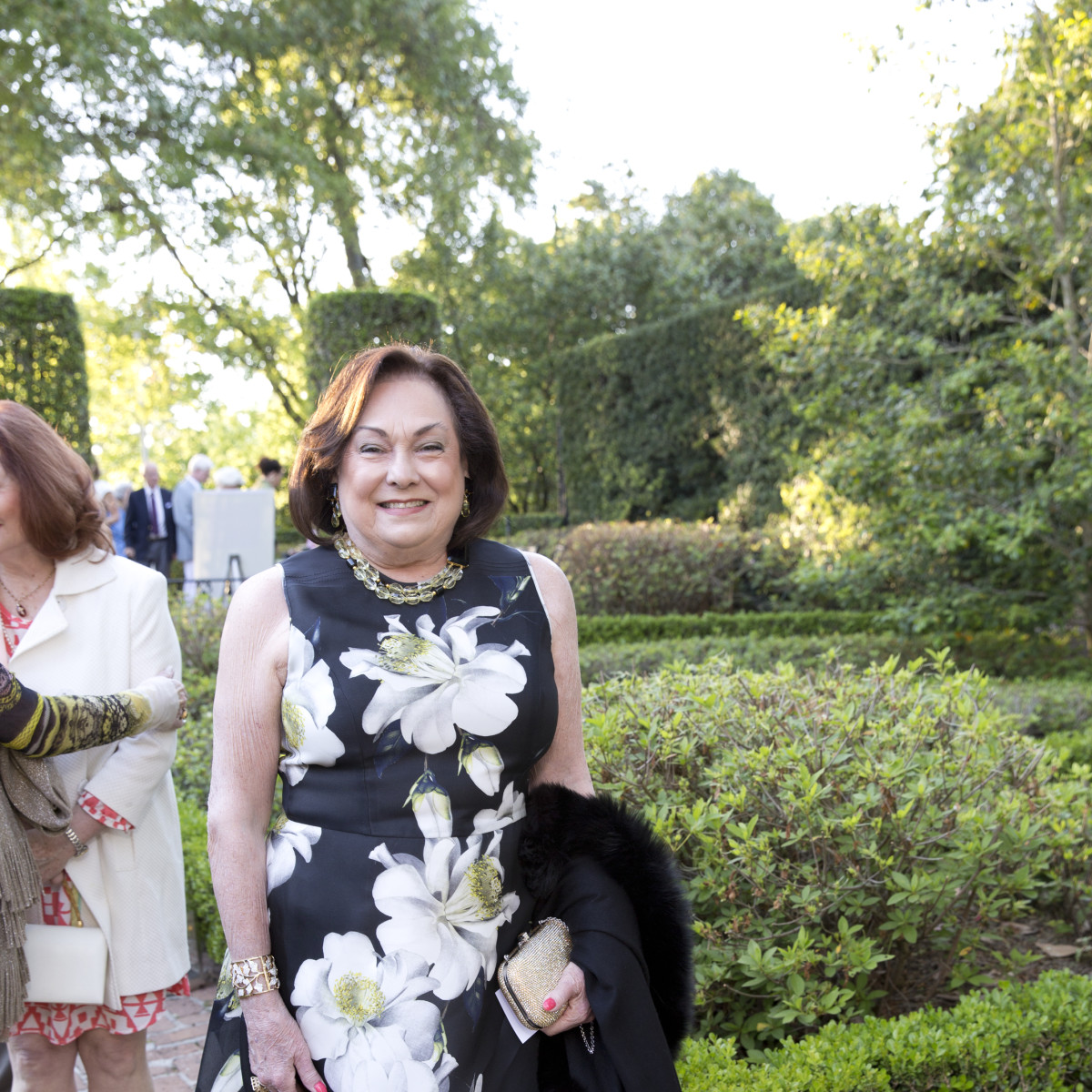 Bayou Bend Garden Party, April 2016, Rose Cullen